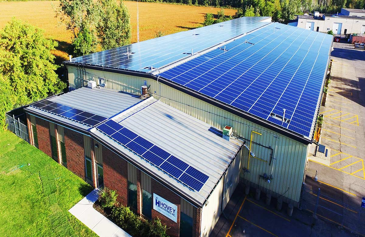 Commercial - Hovey Industries - Ottawa, On - 400 kW AC Solar Electric Project